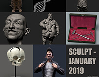 Sculptjanuary 2019