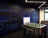 Interior design for Future Processing - Retro Arcade