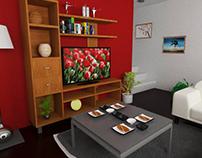 Сozy room (High-Poly)
