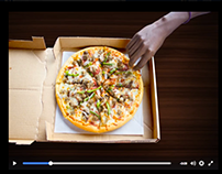 Stop Motion Pizza Hut TZ