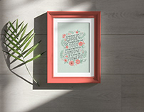 Free Photo Frame Under Natural Sunlight Mockup PSD