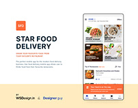 Star Food Delivery UI KIT
