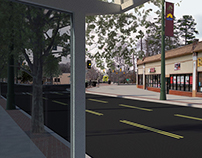 Streetscape Improvement 3D Renderings