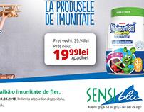 Sensiblu - Campanie Răceală și Gripă