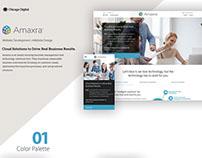 Amaxra- Website Design