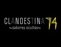 Logo Clandestina74 con -ideeen espacios habitables-