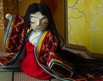 Princess Kayo(嘉代姫) -3D character Design