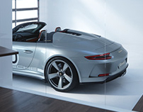 Porsche Speedster Interior test