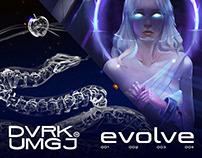 EVOLVE DVRKxUMGJ Streetwear Artwork