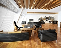 G.E. ESKISEHIR - 3D OFFICE DESIGN