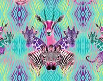 SAFARI Swimwear prints and patterns OFFCORSS
