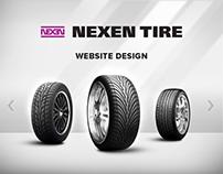 Nexen Tire Website Design