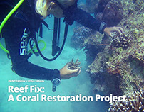 Reef Fix: A Coral Restoration Project
