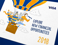 Visa Financial Literacy Calendar