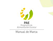Rediseño de logo y desarrollo de imagen para el PAE