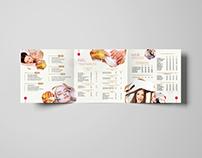 SPA MENU CARD DESIGN | 2016