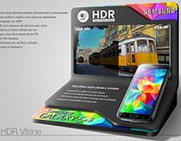 Display Experimentação HDR Galaxy S5