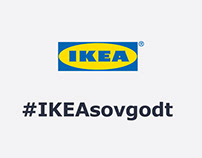 IKEA - #IKEAsovgodt landingpage and SoMe content