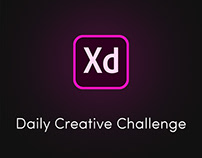 Adobe Xd - Daily Creative Challenge