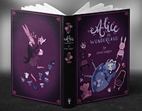 Alice in Wonderland Cover Illustrations and Prints