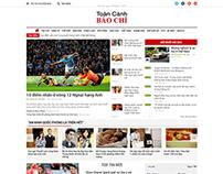 Website Breaking News, Newspaper Theme