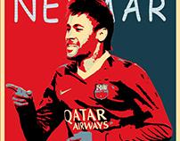 Neymar - Hope Poster