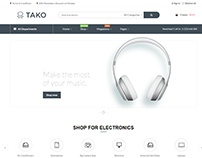 Tako-Premium Multi-Purpose eCommerce WordPress Theme