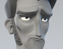 Daily sketch 3d sculpt