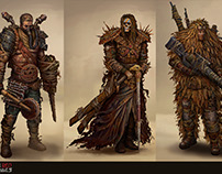 POST APOCALYPTIC CHARACTER CONCEPT DESIGN