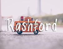Rashford - Free brush font