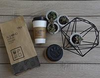 Almond Coffee House: Logo, Printables & Website