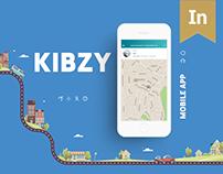 Carpooling app: Kibzy
