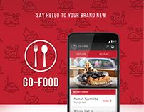 GO-FOOD Redesign