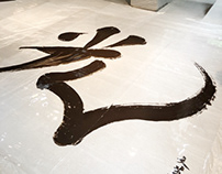 光 Light Calligraphy Exhibition