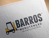 Logotipo Barros Manutenção em Empilhadeiras