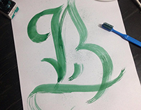 Calligraphy Sketch