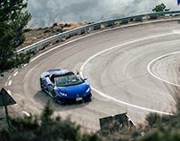 Lamborghini Huracan EVO Road Shooting
