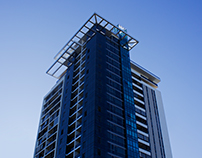 Apex Apartments Branding