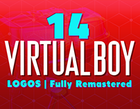 14 Virtual Boy Logos Fully Remastered
