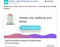 Facebook Ad for SaaS