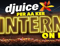 Djuice INTERNET ON KER....