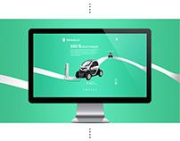 Webdesign Renault Twizy