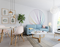 Project Baber - Girlish interior at Budapest