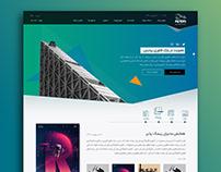 Pardis Techpark Website Mockups