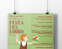 Festa Del libro Progettazione Grafica Locandina