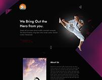 Karate Trainer Website