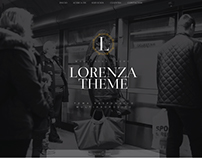 Lorenza - Wordpress Theme - Web Design