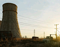 Nuclear powerplant - Full CGI