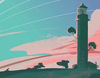 Lighthouse - Background / Color & Light variations 3