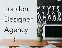London Design Agency Landing page